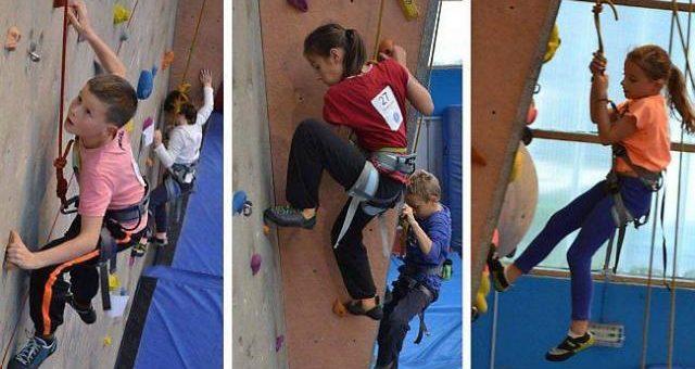 60 jeunes grimpeurs à l'assaut de la salle Cousteau