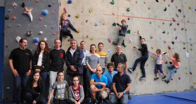 Les grimpeurs de Sénescalade auront un nouveau mur