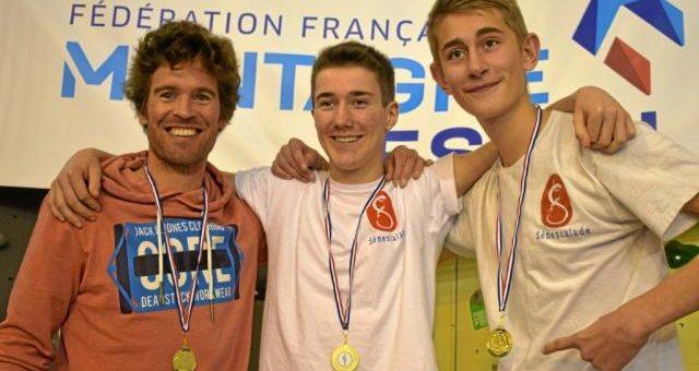Trois champions départementaux pour Sénescalade